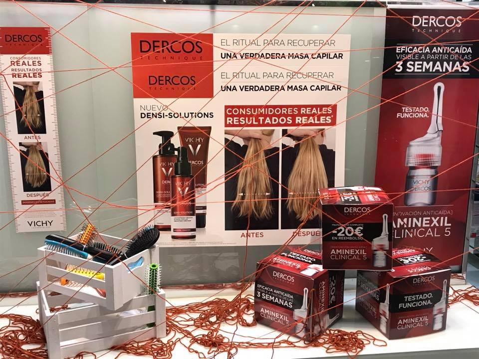 Dercos: tractament densificador pel cabell