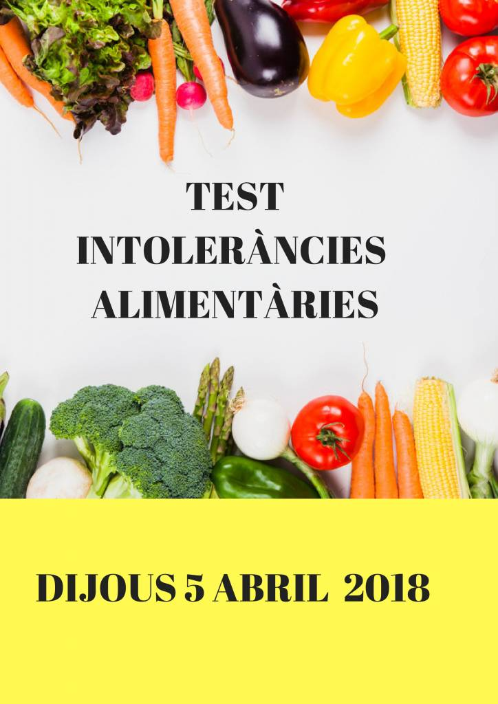 TEST INTOLERÀNCIES